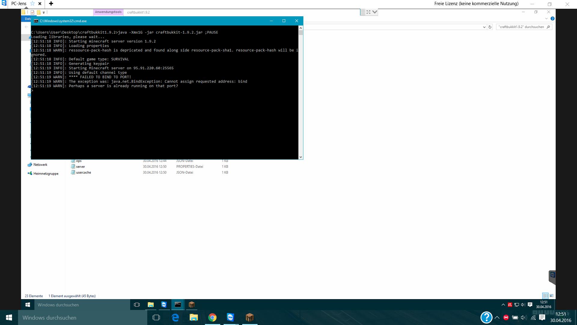 Hier Mein Eigener Minecraft Bukkit Server Skovlyset - Minecraft server erstellen iphone