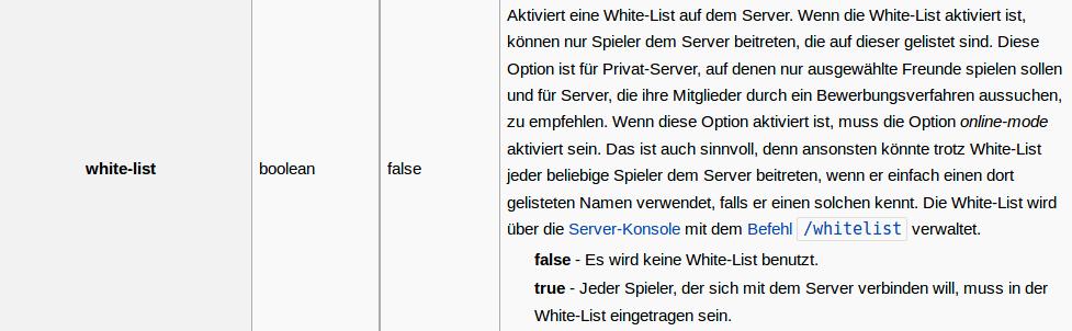 Hilfe Benötigt Für Minecraft Server Hilfe Minecraft Forum - Minecraft server whitelist erstellen